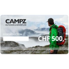 CAMPZ Chèques Cadeaux, CHF 500